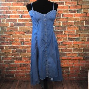 Denim S-Twelve dress
